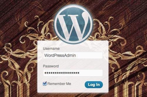 WordPress, własna strona logowania