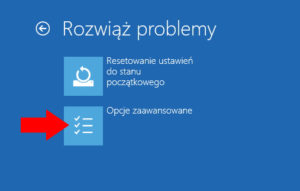 windows 10 tryb awaryjny opcje zaawansowane